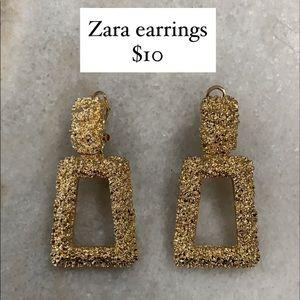 Zara Gold Earrings
